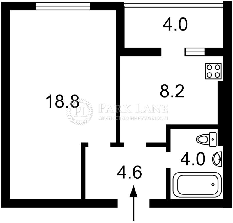 Квартира ул. Доковская, 10, Коцюбинское, R-35601 - Фото 2