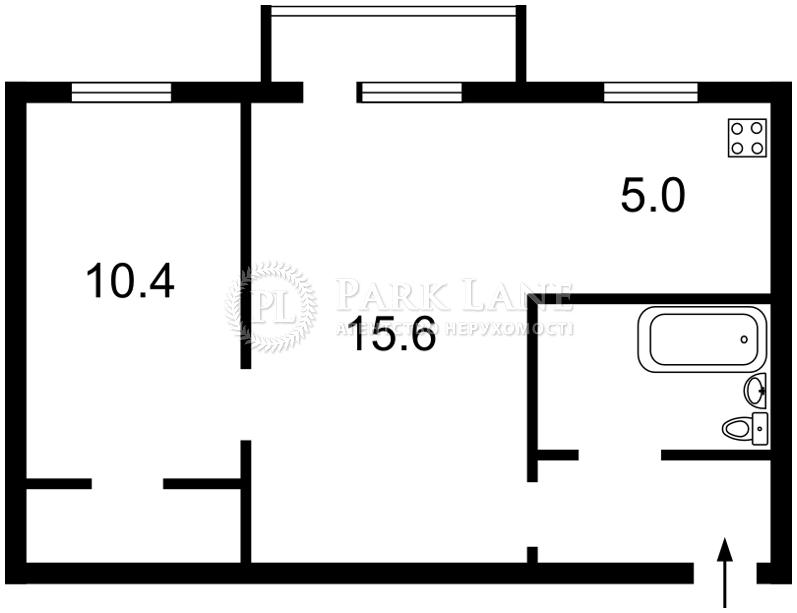 Квартира ул. Чигорина, 59а, Киев, Z-715606 - Фото 2