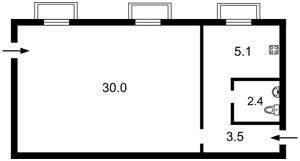 Нежитлове приміщення, B-101280, Златопільська, Київ - Фото 2