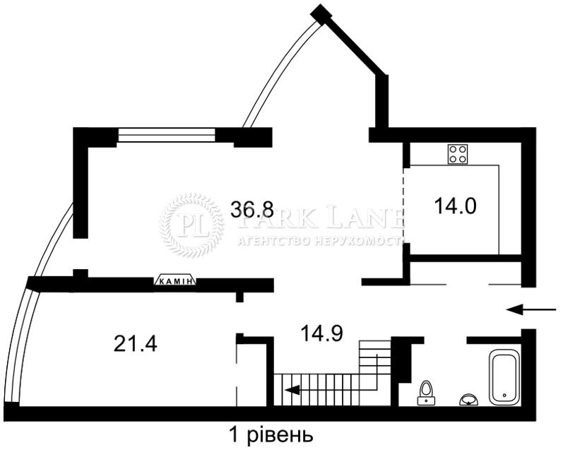 Квартира ул. Глубочицкая, 32б, Киев, J-29912 - Фото 2