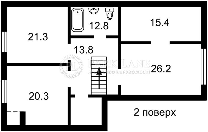Будинок вул. Пушкіна, Петропавлівська Борщагівка, J-29900 - Фото 3