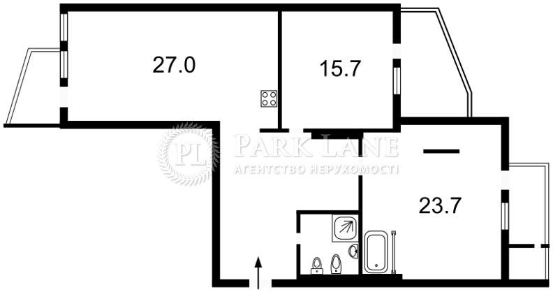 Квартира Леси Украинки бульв., 7б, Киев, R-35527 - Фото 2