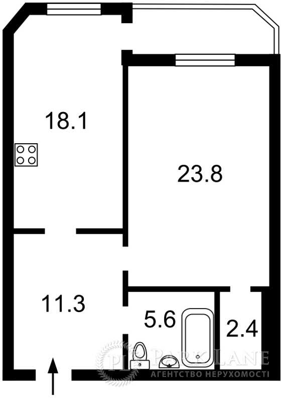Квартира Героев Сталинграда просп., 55, Киев, Z-998734 - Фото 2
