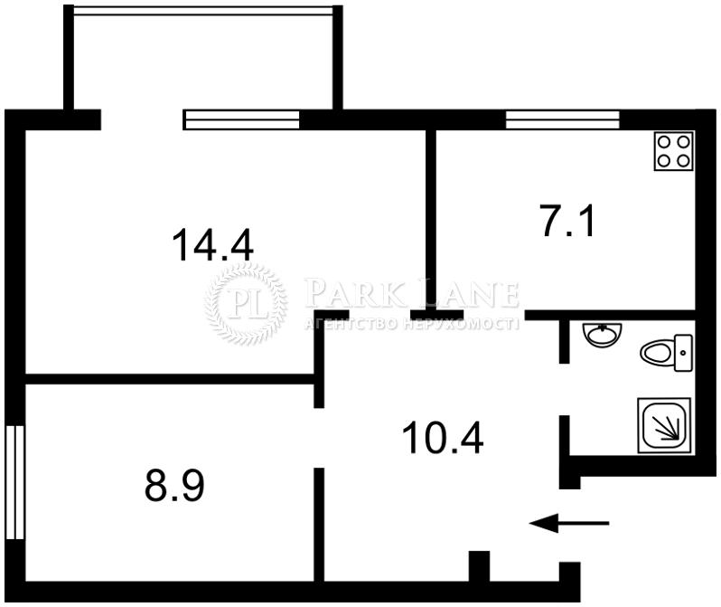 Квартира ул. Шелковичная, 48, Киев, R-35828 - Фото 2