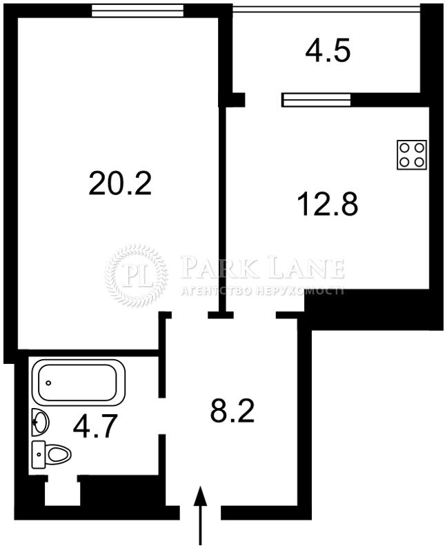 Квартира ул. Саперно-Слободская, 24, Киев, K-30568 - Фото 2