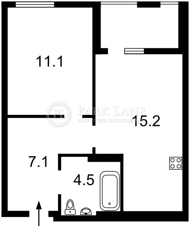 Квартира ул. Регенераторная, 4 корпус 7, Киев, Z-715680 - Фото 2