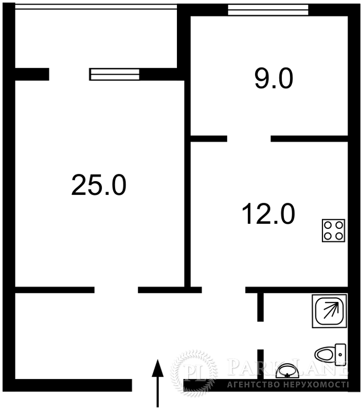 Квартира Героев Сталинграда просп., 47а, Киев, R-35769 - Фото 2