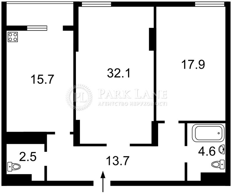 Квартира ул. Мишуги Александра, 8, Киев, R-35986 - Фото 2