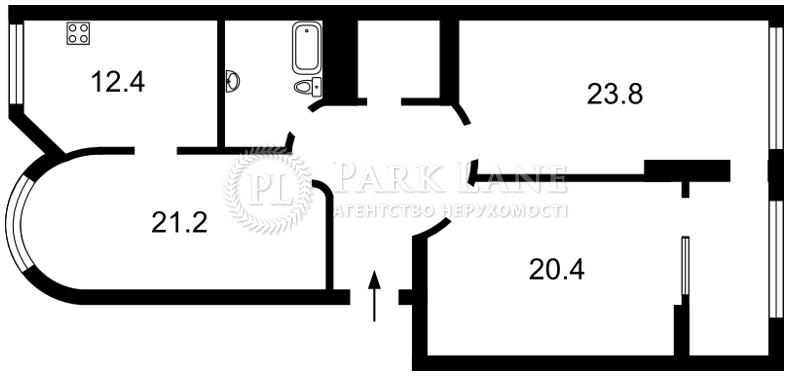 Квартира ул. Завальная, 10в, Киев, J-29699 - Фото 2