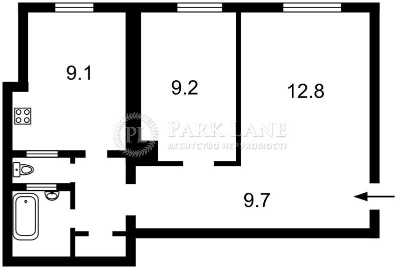 Квартира ул. Большая Васильковская, 67/7, Киев, X-2785 - Фото 2
