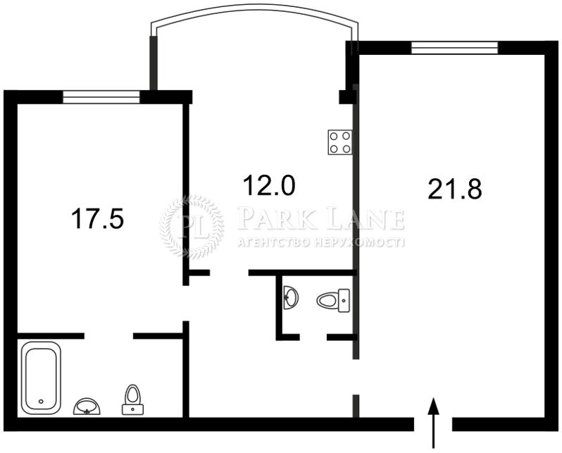 Квартира Героев Сталинграда просп., 10а, Киев, Z-718269 - Фото 2