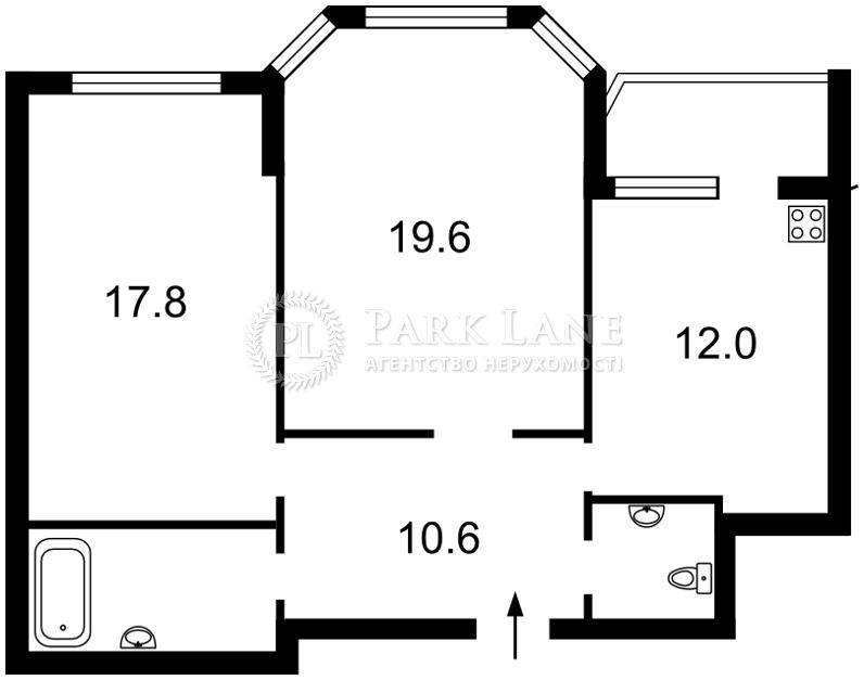 Квартира Бажана Николая просп., 16, Киев, Z-1279439 - Фото 2