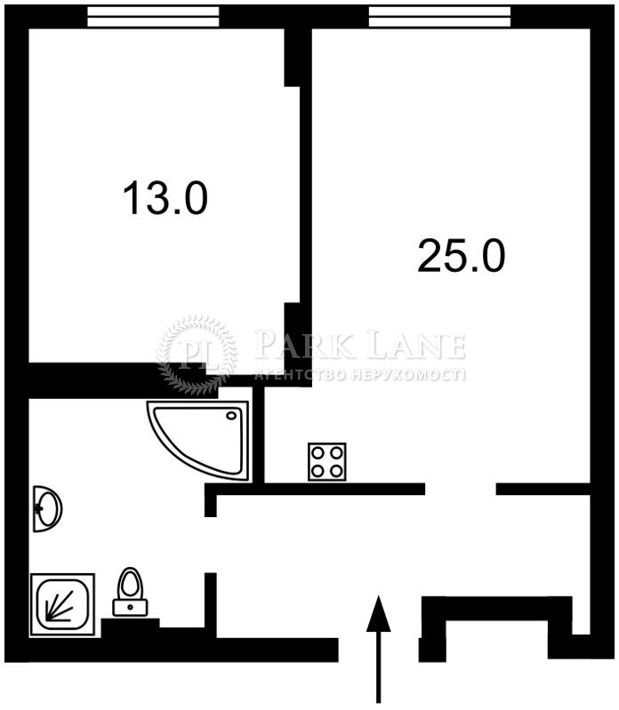 Квартира ул. Драгомирова Михаила, 2а, Киев, I-31906 - Фото 2