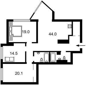 Квартира N-22535, Глубочицкая, 32а, Киев - Фото 5