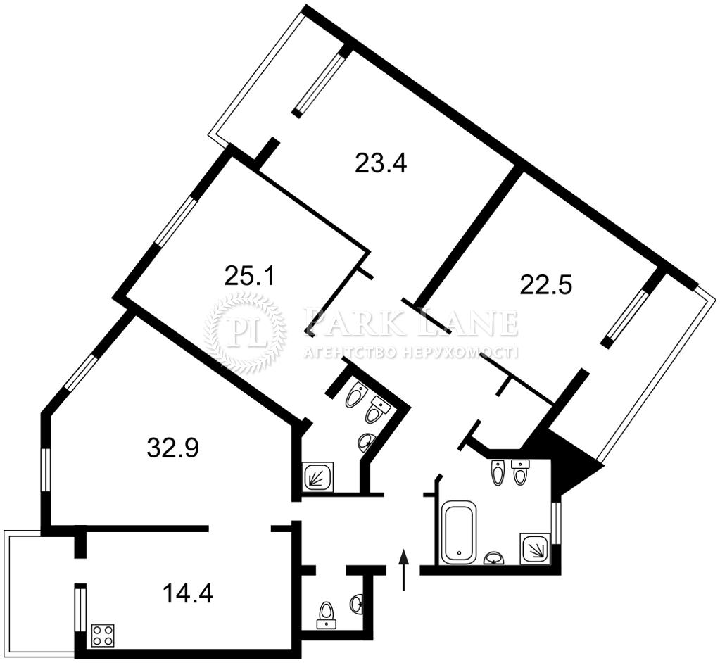 Квартира ул. Тургеневская, 52-58, Киев, L-28028 - Фото 2