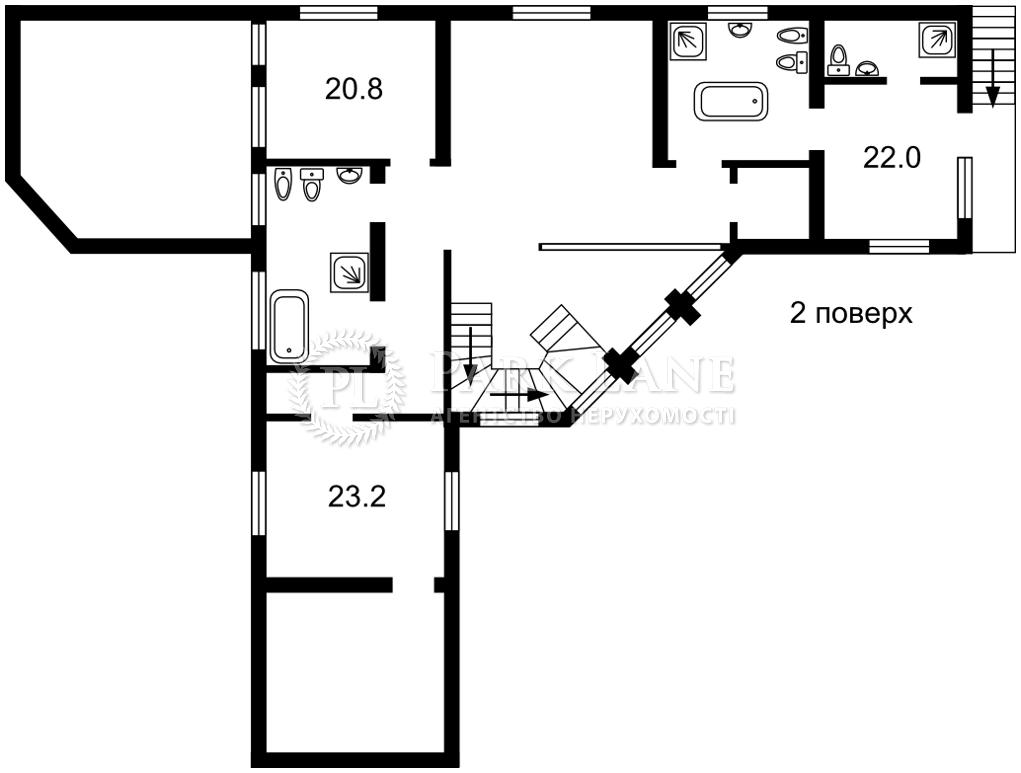 Дом J-30081, Старокиевская, Козин (Конча-Заспа) - Фото 4
