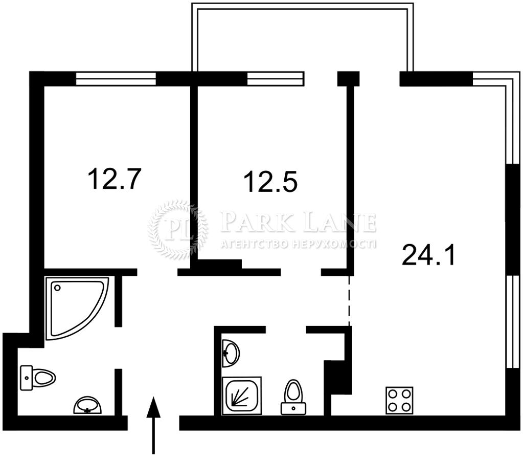 Квартира ул. Джона Маккейна (Кудри Ивана), 7, Киев, Z-722402 - Фото 2