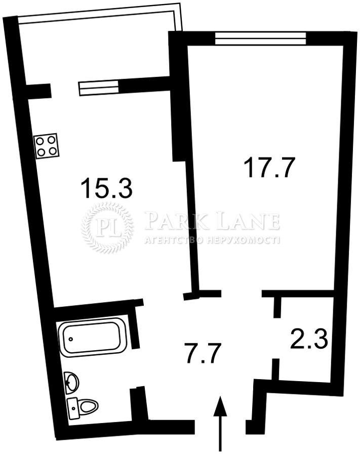 Квартира ул. Тютюнника Василия (Барбюса Анри), 28а, Киев, Z-722397 - Фото 2