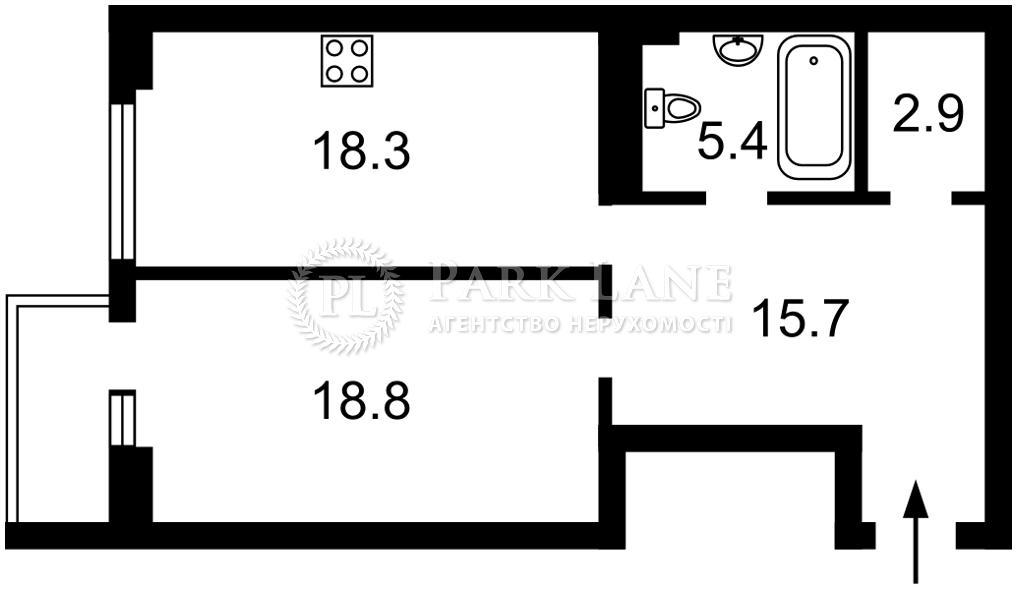 Квартира ул. Коновальца Евгения (Щорса), 36е, Киев, Z-1872053 - Фото 2