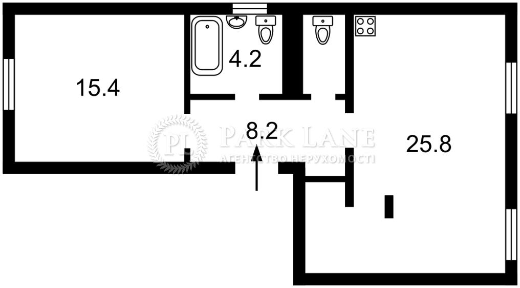 Квартира ул. Нагорная, 8/32, Киев, J-30102 - Фото 2