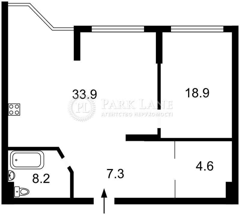 Квартира Бажана Николая просп., 8б, Киев, L-28053 - Фото 2