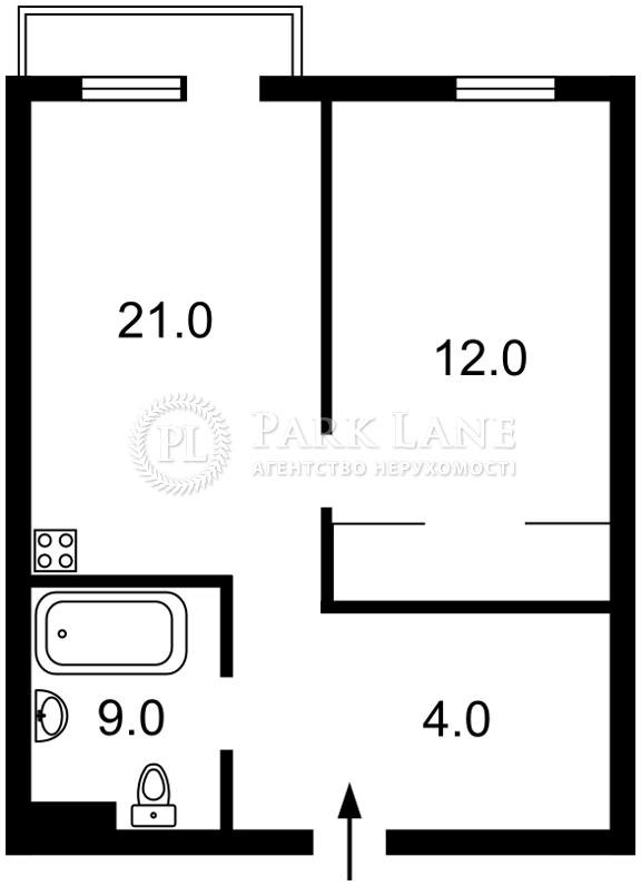 Квартира ул. Петрицкого Анатолия, 23, Киев, I-31694 - Фото 2