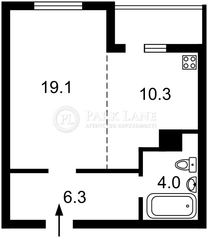 Квартира Отрадный просп., 2, Киев, Z-718782 - Фото 2