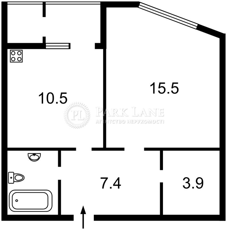 Квартира ул. Героев Севастополя, 35а, Киев, Z-721940 - Фото 2