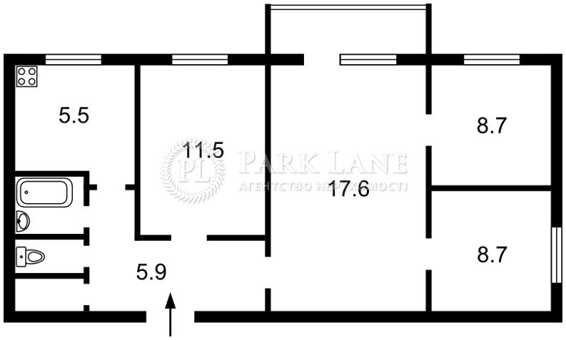 Квартира Z-732512, Нижнеюрковская, 4, Киев - Фото 4