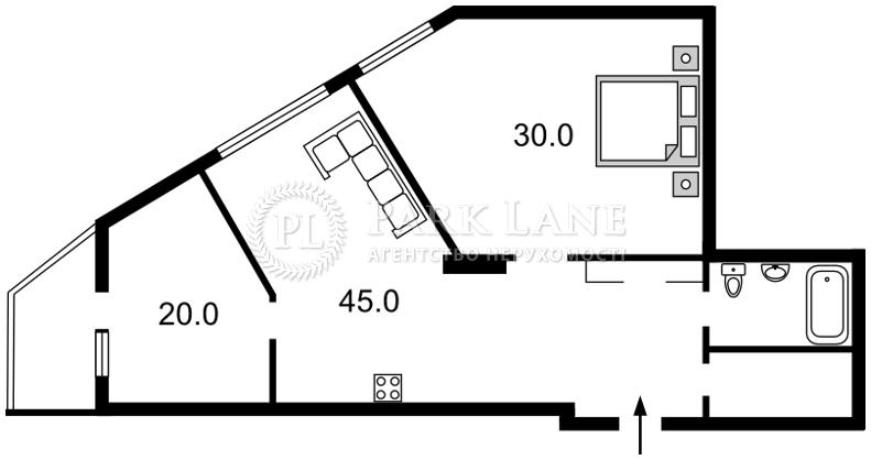 Квартира ул. Деловая (Димитрова), 2б, Киев, R-36409 - Фото 2