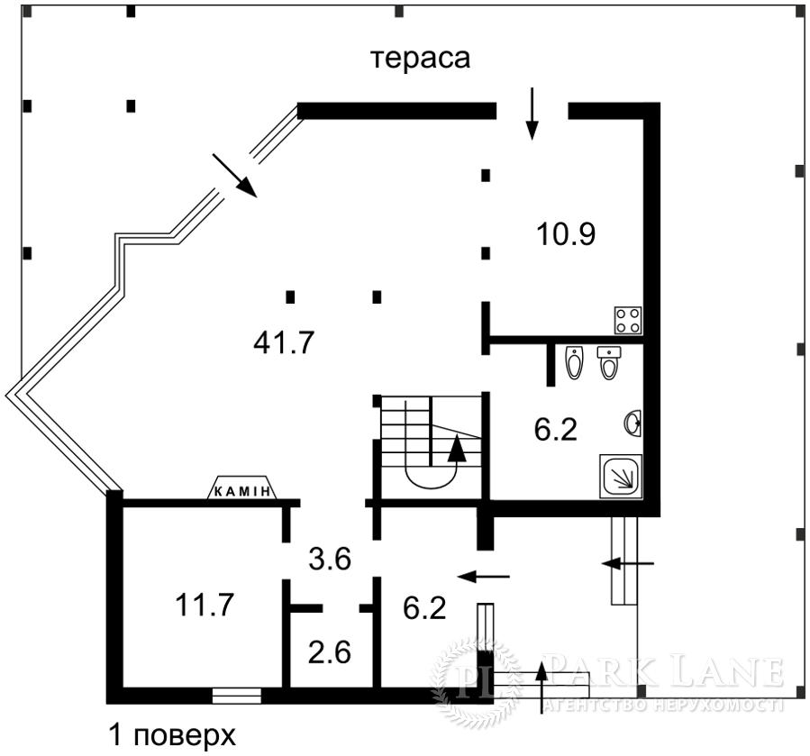 Дом X-2957, Великая Бугаевка (Васильковский) - Фото 3