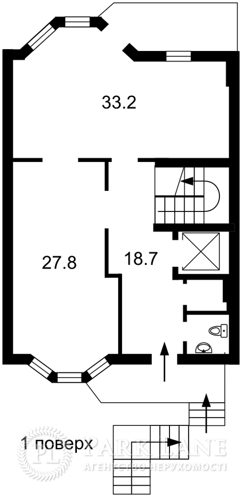 Квартира Тимирязевский пер., 30/1б, Киев, K-30791 - Фото 4