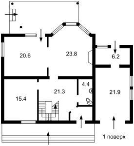 Дом R-4348, Полевая, Новоселки (Вышгородский) - Фото 2