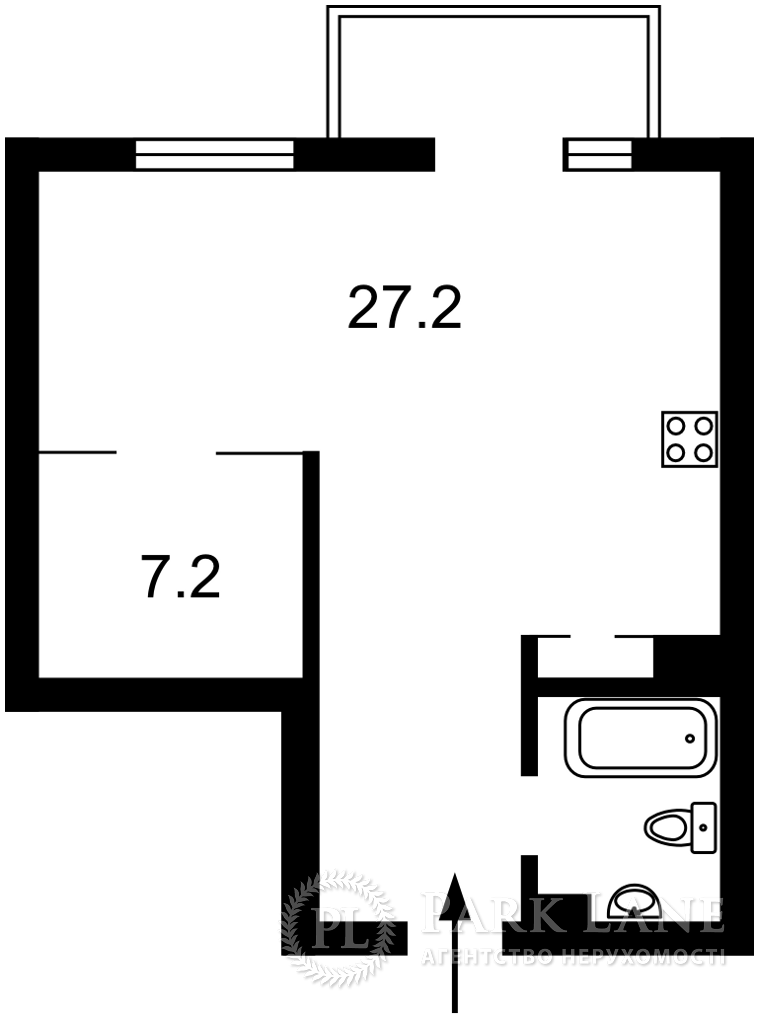 Квартира ул. Паньковская, 20/82, Киев, Z-720992 - Фото 2
