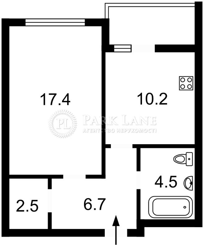 Квартира ул. Петрицкого Анатолия, 13, Киев, Z-135172 - Фото 2
