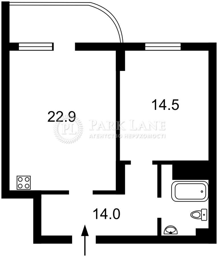Квартира ул. Драгомирова Михаила, 2а, Киев, Z-679957 - Фото 2