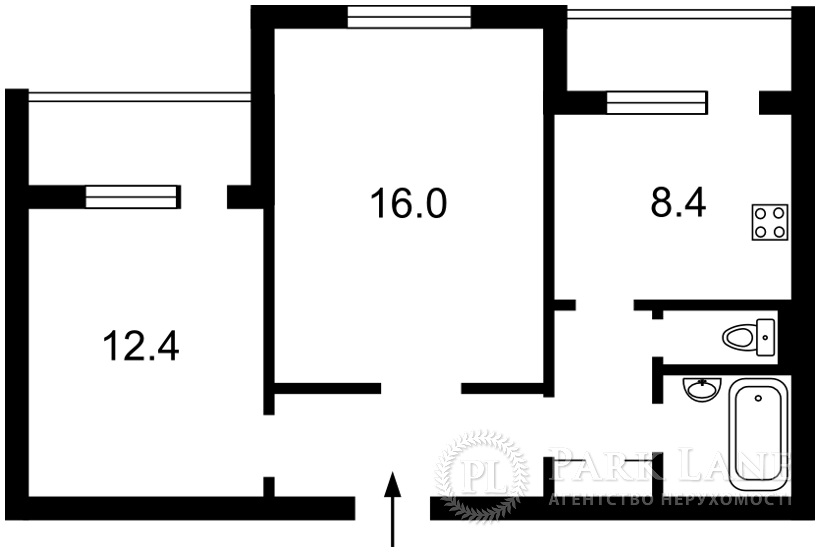 Квартира J-30220, Бальзака Оноре де, 91/29, Київ - Фото 3