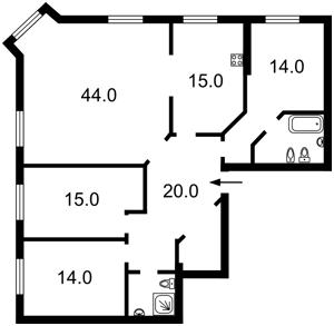 Квартира R-36266, Межигорская, 28, Киев - Фото 2