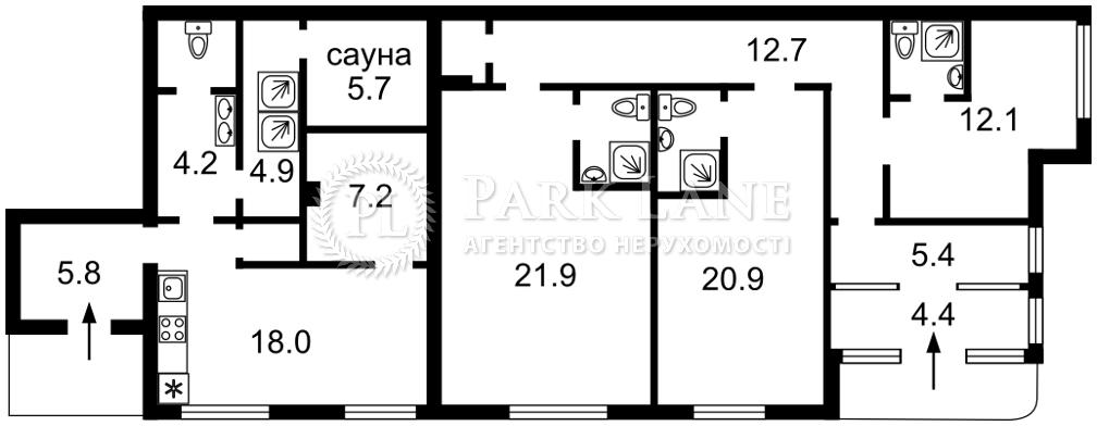 Квартира ул. Шумского Юрия, 3г, Киев, I-31907 - Фото 2