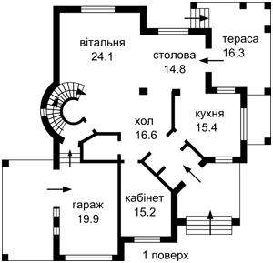 Дом J-30280, Садовая, Петропавловская Борщаговка - Фото 9