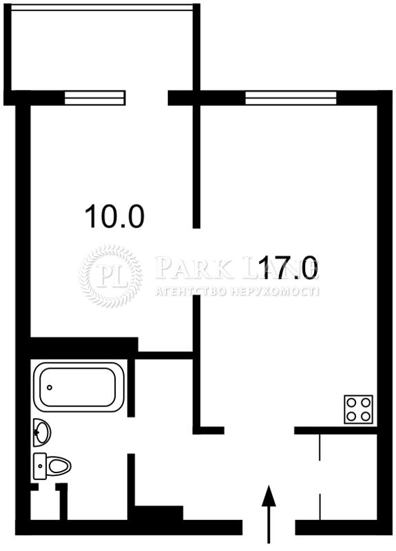 Квартира ул. Донца Михаила, 2а, Киев, Z-726584 - Фото 2