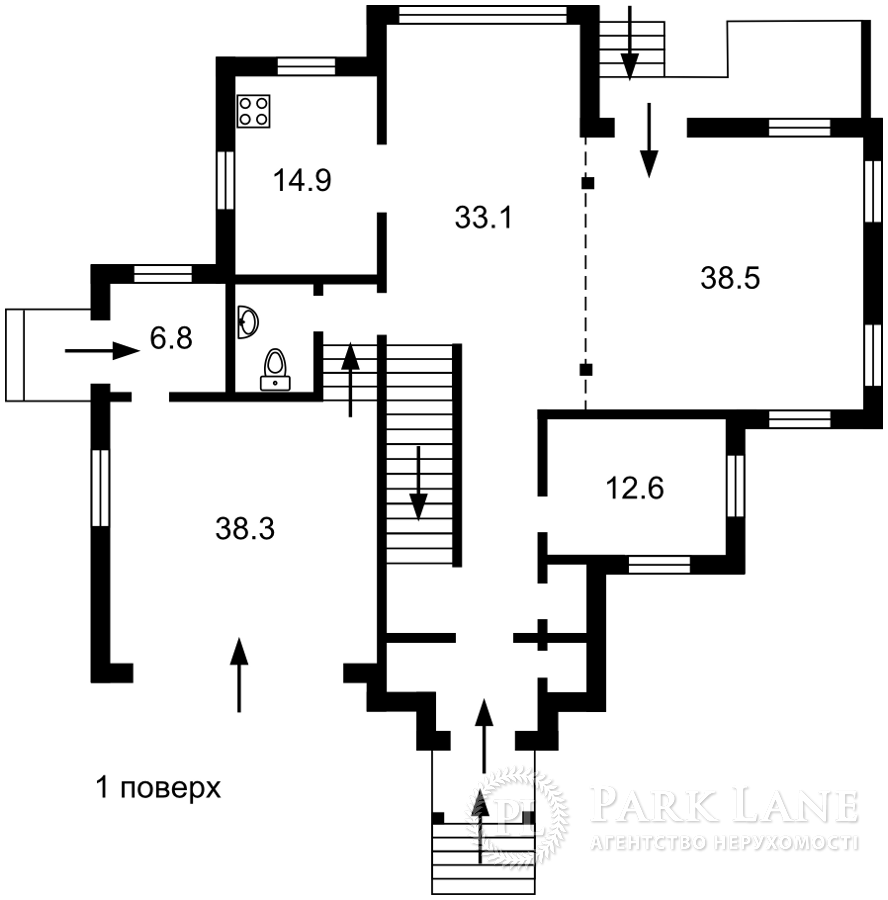 Дом J-30294, Кобзаря, Ходосовка - Фото 4