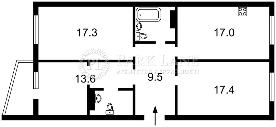 Квартира L-28121, Гмыри Бориса, 16, Киев - Фото 4
