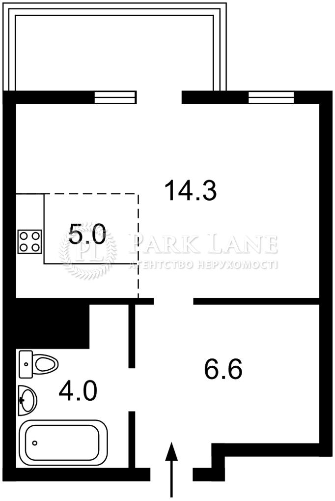Квартира Победы просп., 67г, Киев, Z-603641 - Фото 2