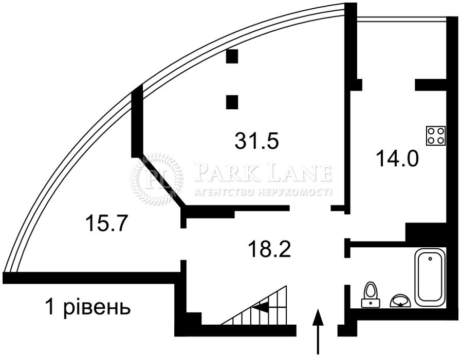 Квартира ул. Никольско-Слободская, 3а, Киев, Z-733842 - Фото 2