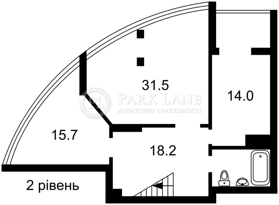 Квартира ул. Никольско-Слободская, 3а, Киев, Z-733842 - Фото 3