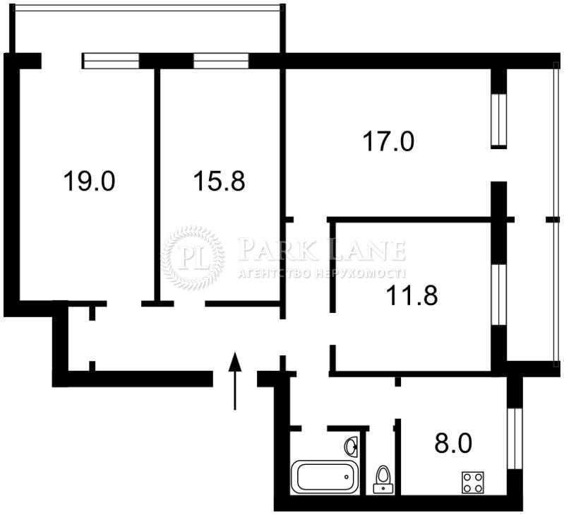 Квартира Z-700279, Вербицкого Архитектора, 22/1, Киев - Фото 5