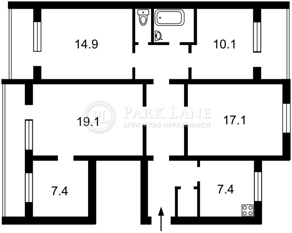 Квартира Правды просп., 9в, Киев, Z-143482 - Фото 2