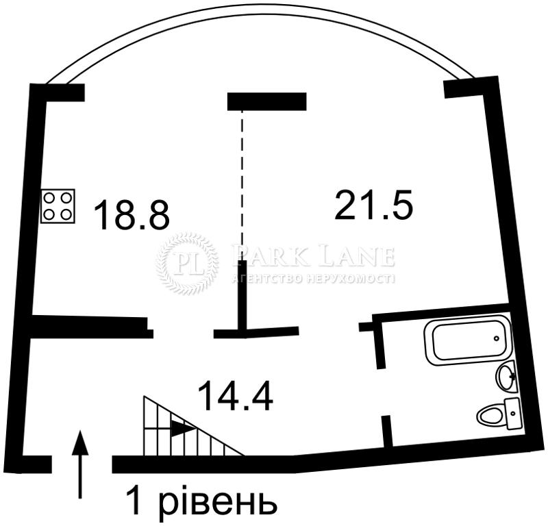 Квартира ул. Днепровская наб., 19а, Киев, Z-736653 - Фото 2