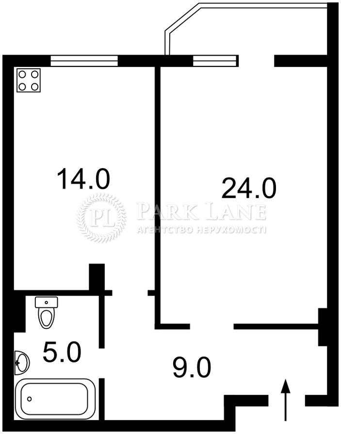 Квартира ул. Дегтяревская, 25а, Киев, Z-733219 - Фото 2